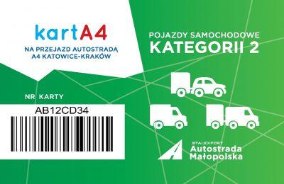 Karta dla pojazdów kategorii 2