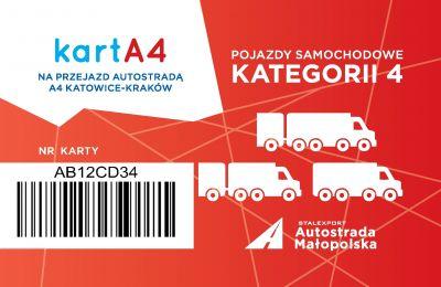 Karta dla pojazdów kategorii 4
